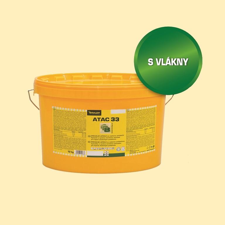 Disperzní lepidlo na podlahy BRALEP ATAC 33 balení 4kg