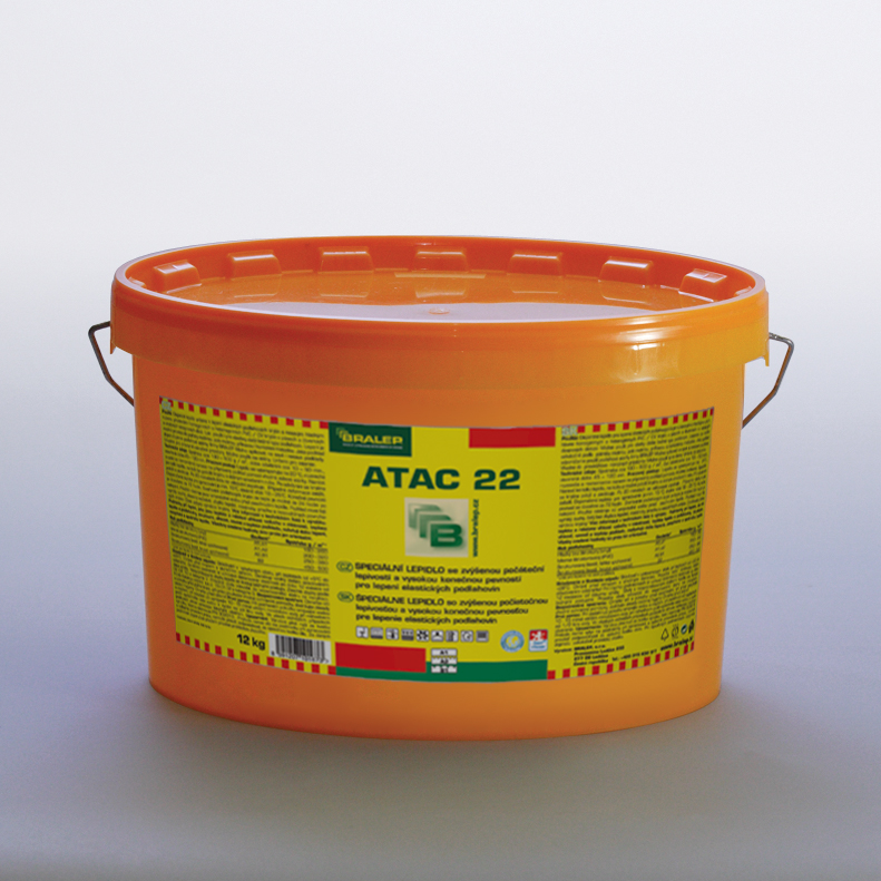 Disperzní lepidlo na podlahy Bralep ATAC 22 balení 4kg