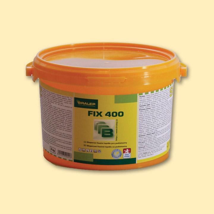 Fixační lepidlo na podlahy Bralep FIX 400 balení 3kg