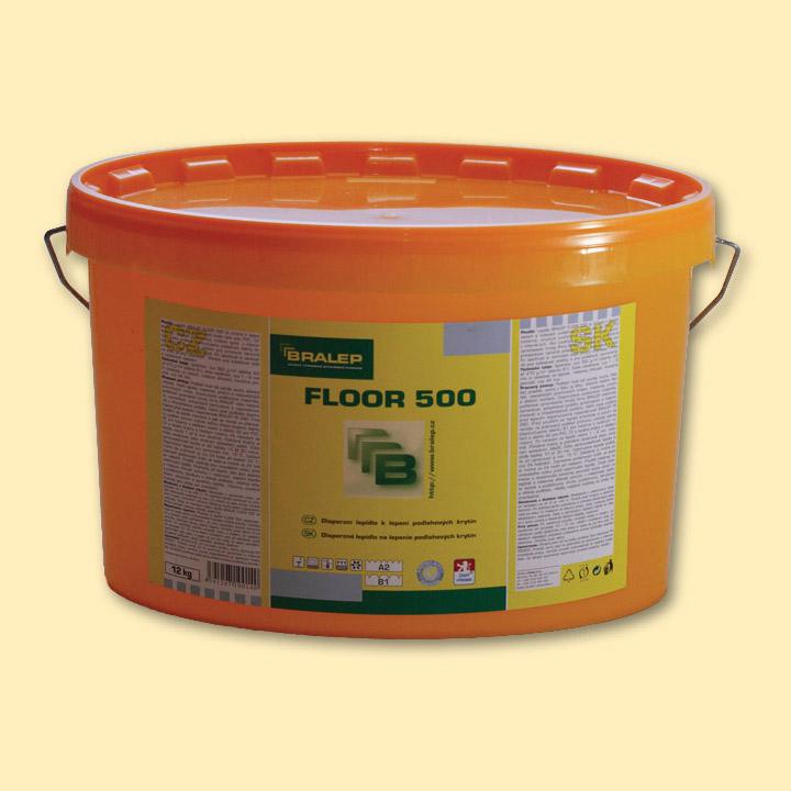 Disperzní lepidlo na podlahy Bralep FLOOR 500 balení 4kg