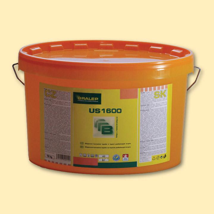 Disperzní lepidlo na podlahy Bralep US 1600 balení 4kg