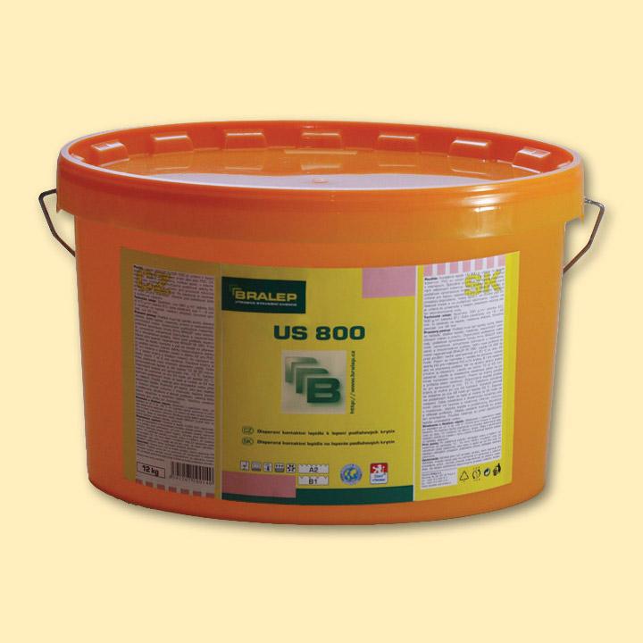 Disperzní lepidlo na podlahy Bralep US 800 balení 4kg