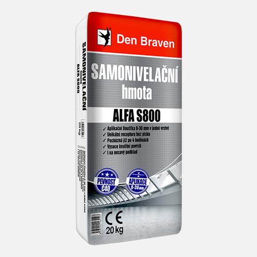 Den Braven Samonivelační hmota ALFA S800, balení 20kg
