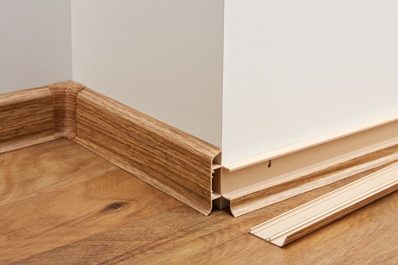 Podlahová lišta THX k vinylové podlaze THERMOFIX, Thermofix lišta THX L0008 Borovice bílá - rustikal