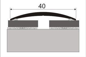 Přechodová lišta samolepicí 40mm dekor dřevo 93 cm, Dekor Sosna bílá 35