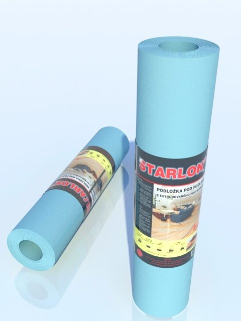 Podložka STARLON TOP 1,6mm role, na podlahové vytápění