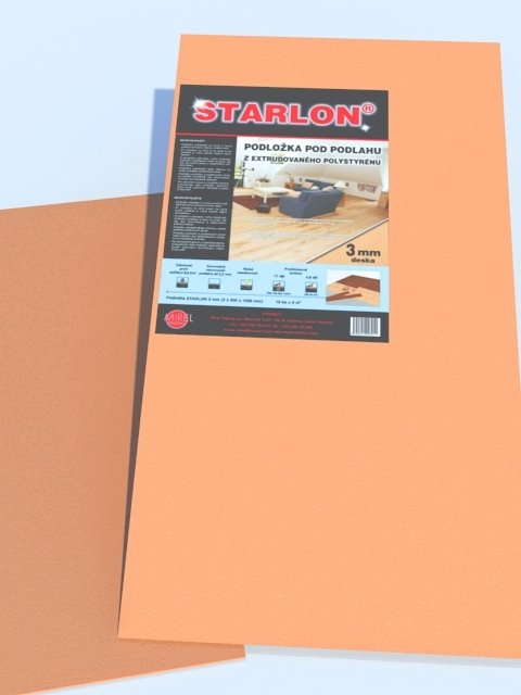 Podložka STARLON 3mm desky