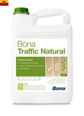 BONA Traffic Natural balení 4,95L